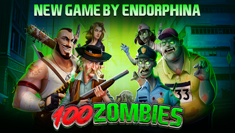 Endorphina Visits The Apocalypse With Their New 100 Zombies Online Slot