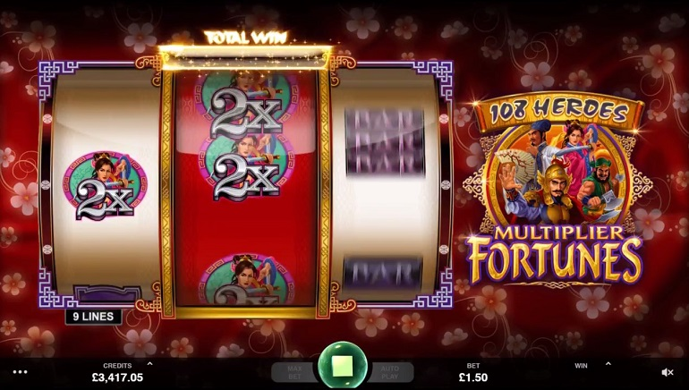 Microgaming to Release 108 Heroes Multiplier Fortunes Slot Next Week