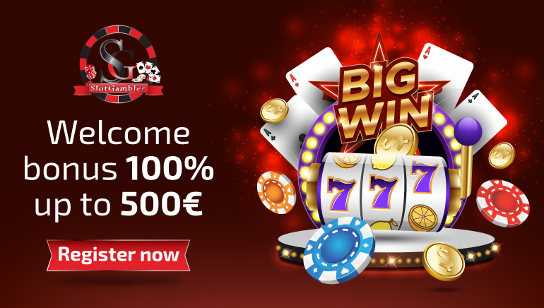 Slotgambler Casino Raises the Roof with 100% Bonus up to €500
