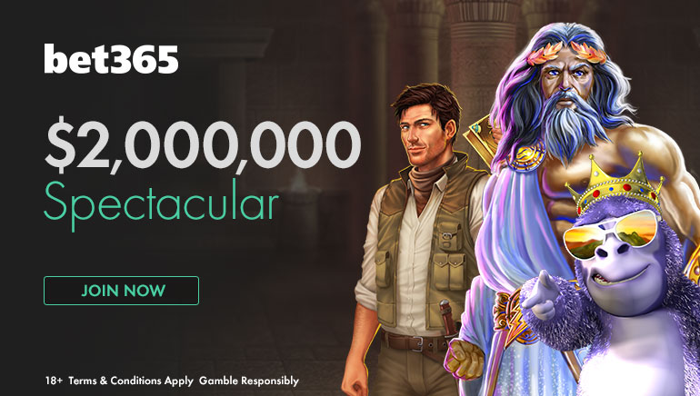 Cool £1,000,000/$2,000,000 in Prizes Up for Grabs at bet365 in May