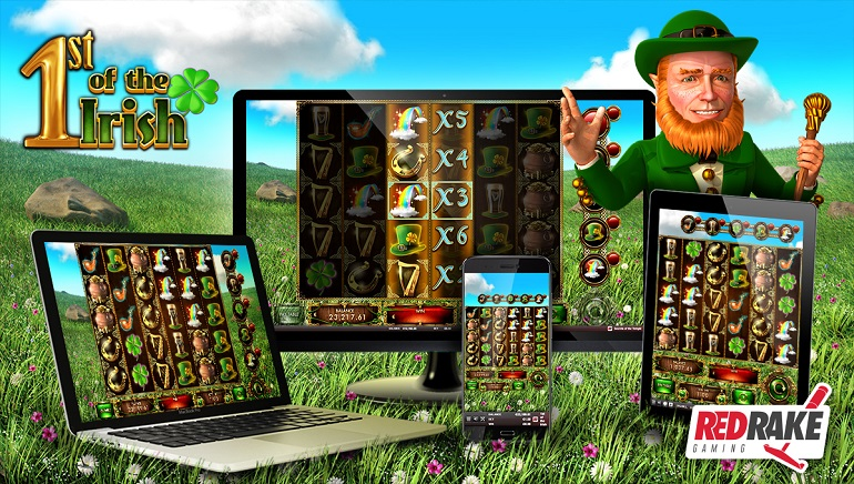 Red Rake Gaming Introduces 1st of the Irish Slot