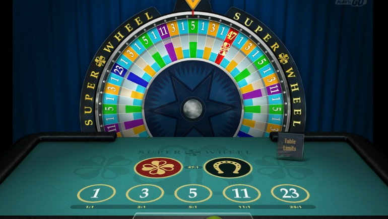 New Super Wheel Table Game From Play'n GO
