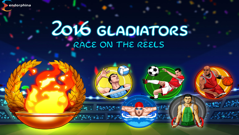 Gear up for Endorphina's Newest Game: 2016 Gladiators