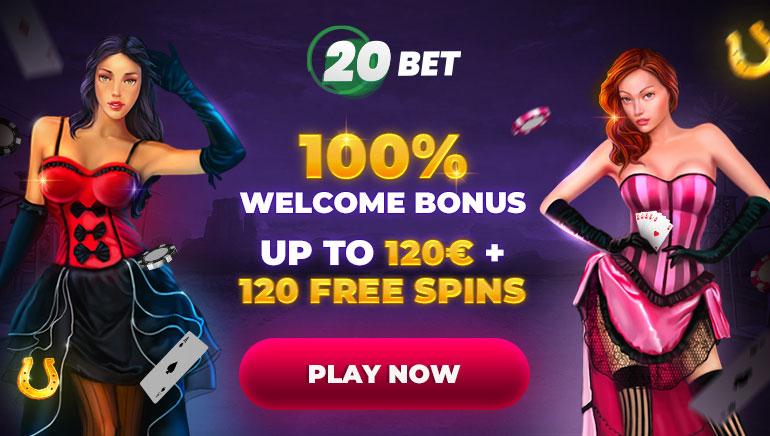 20BET Casino Offers Big Bonuses for 2021