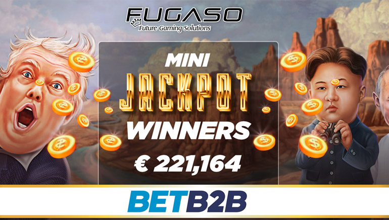 Two Players Hit Fugaso Mini Jackpots the Same Day to the Tune of €221,000