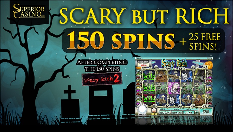 Superior Casino Ignites a Fright Fest with Scary But Rich Promo!