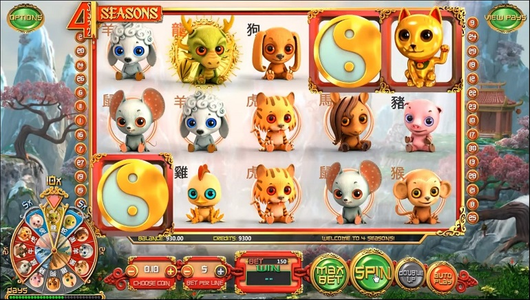 Betsoft's Newest Slot Release: 4 Seasons
