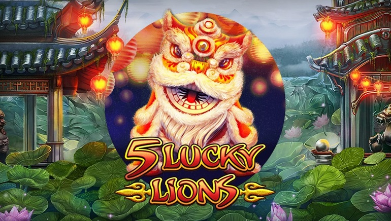 Habaneros' 5 Lucky Lions Slot Roars Into Online Casinos