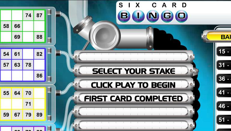 6 Card Bingo
