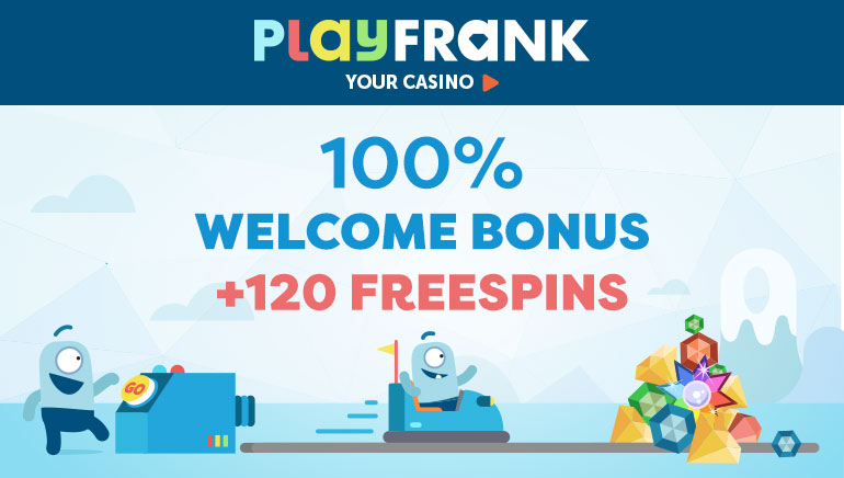 Kick Off Your PlayFrank Casino Experience With 120 Free Spins & 100% Bonus