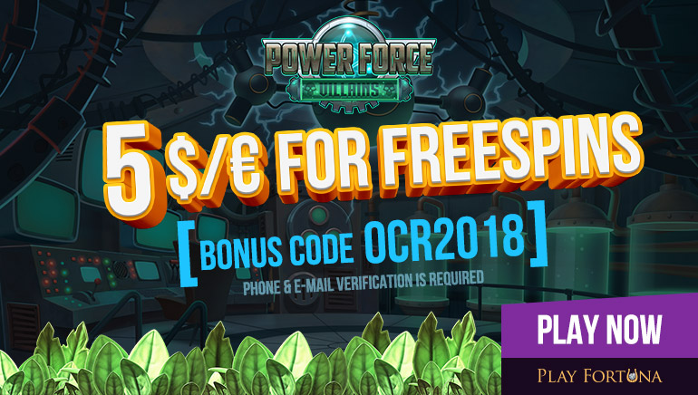 Exclusive No Deposit Free Spins at Play Fortuna