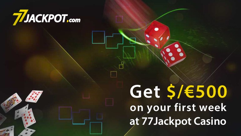 7 Days Of Non-Stop Action at 77 Jackpot Casino