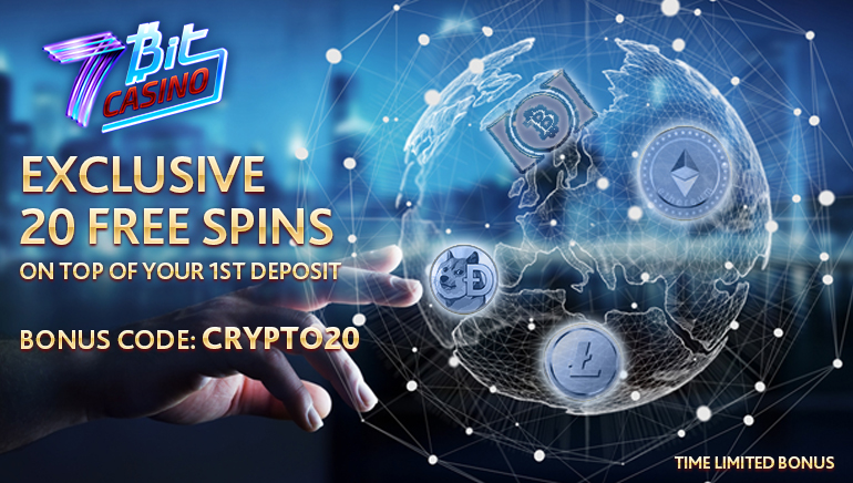 Exclusive: Extra 20 Free Spins at 7Bit Casino