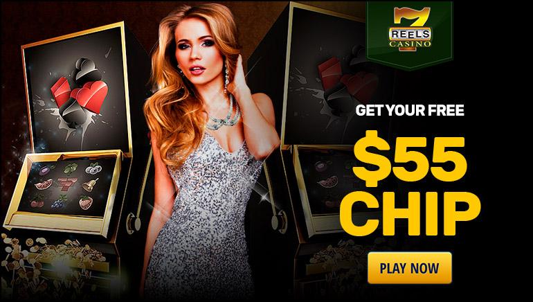 Grab $55 Free Chips at 7Reels Casino