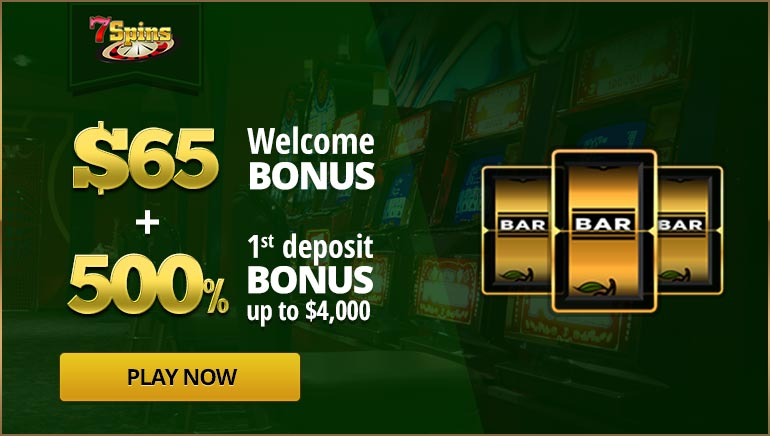 Get $65 Free and a Huge Welcome Bonus with OCR's 7Spins Exclusive Offer