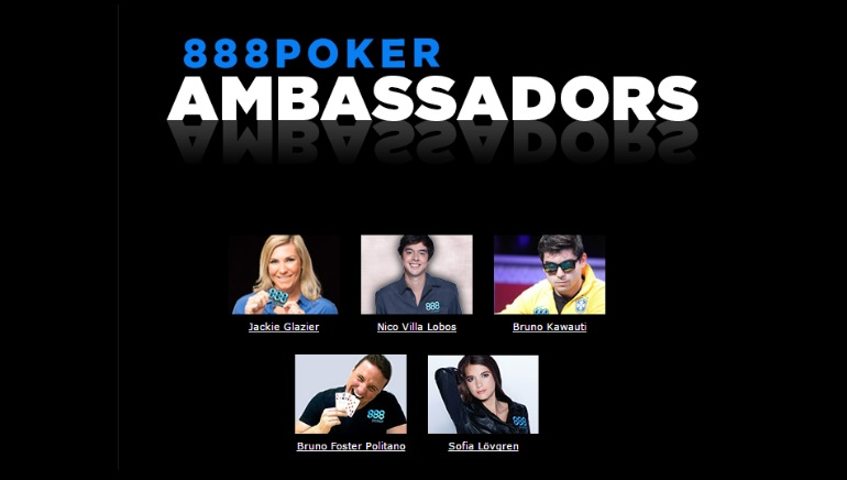 Pro Ohyama Joins the 888 Poker Team