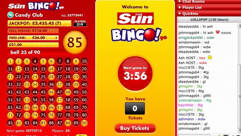 90 Ball Bingo Progressive