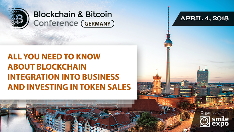 Berlin in April is the Place for Blockchainers to Be
