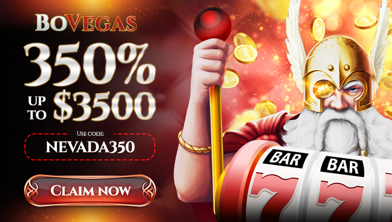 Get Exclusive 350% Up to $3,500 Welcome Offer at BoVegas Casino