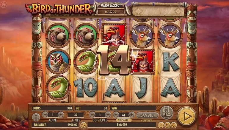 Habanero Casinos Get New Bird of Thunder Slot