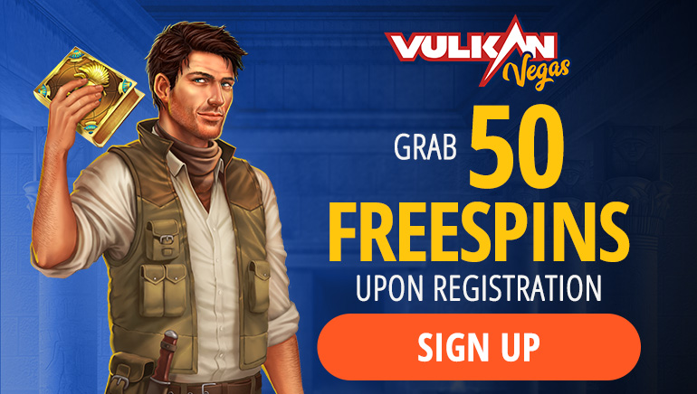 50 Free Spins at Vulkan Vegas Casino with No Deposit