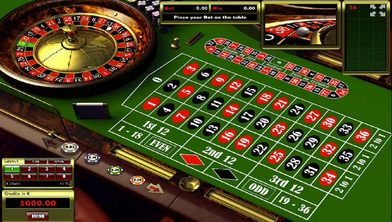 free casino roulette online
