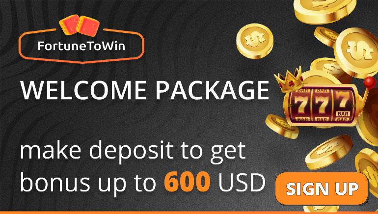 FortuneToWin Players Celebrate with Mega Welcome Package