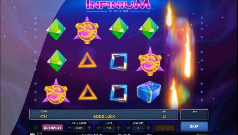 To Deep Space and Beyond: Zeus Play Releases Infinium