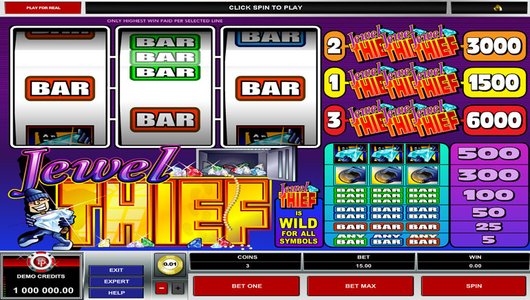 Plenty of Jewels 20 Hot Slot - Play for Free or Real Money