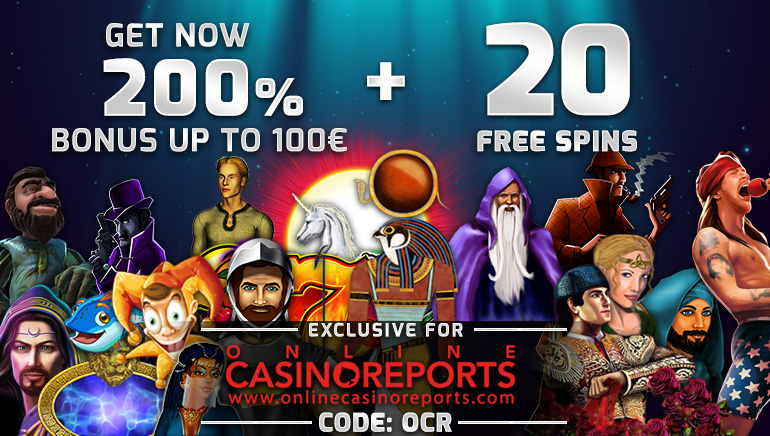 Claim €10 No Deposit and a 200% Welcome Offer at Lapalingo Casino