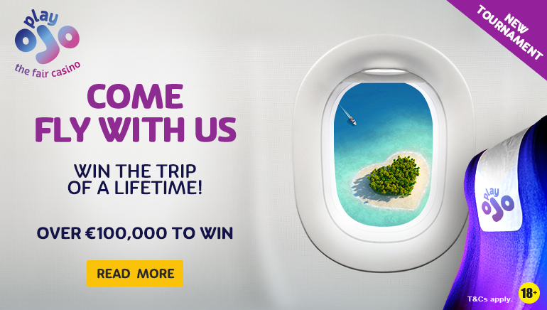 Win a Trip of a Lifetime With PlayOJO Casino + Heaps of Other Prizes