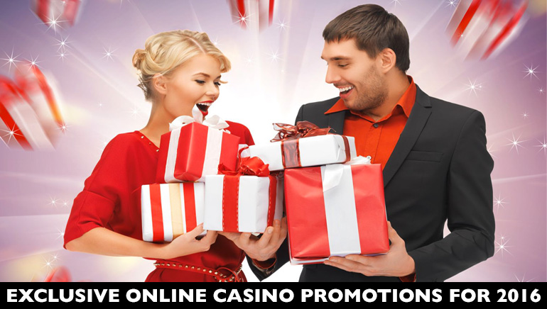 Top Exclusive Online Casino Promotions for 2016