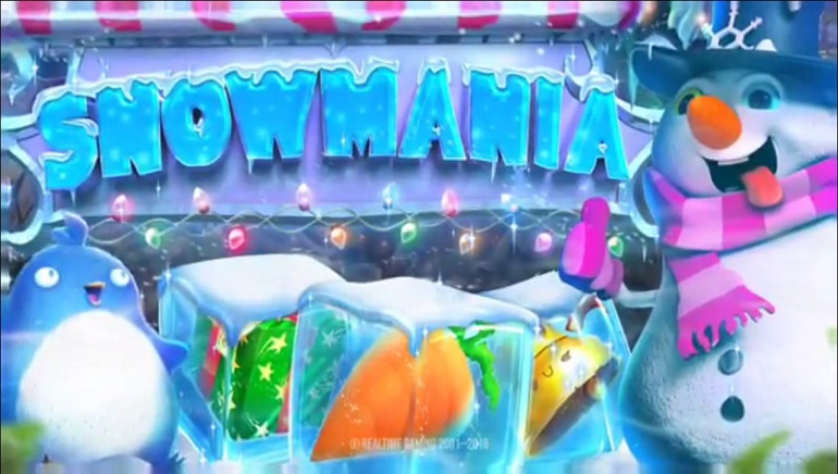 Play in the Snow with RTG's New Winter-themed Slot Snowmania