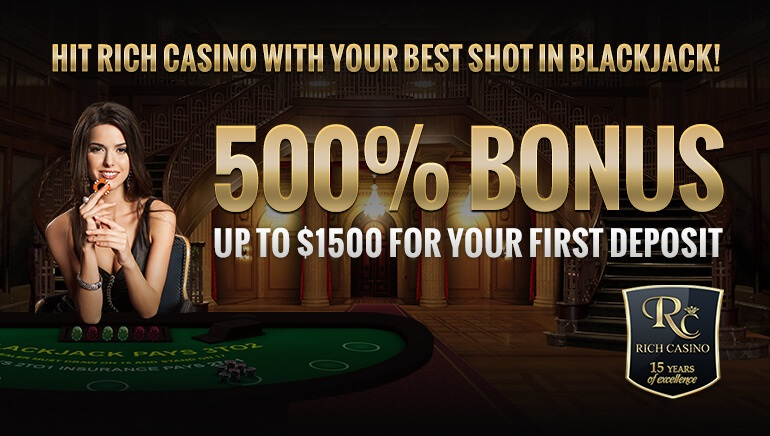 Get Free Bonus Cash at Rich Casino with Exclusive Offer
