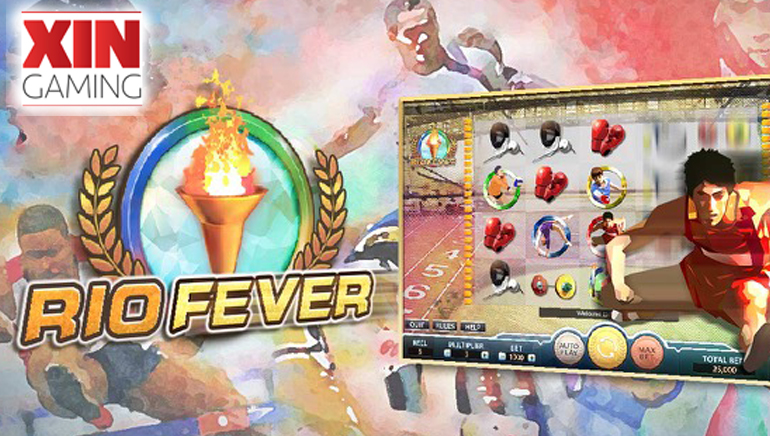 XIN Gaming Wins Gold Medal with New Slot Rio Fever