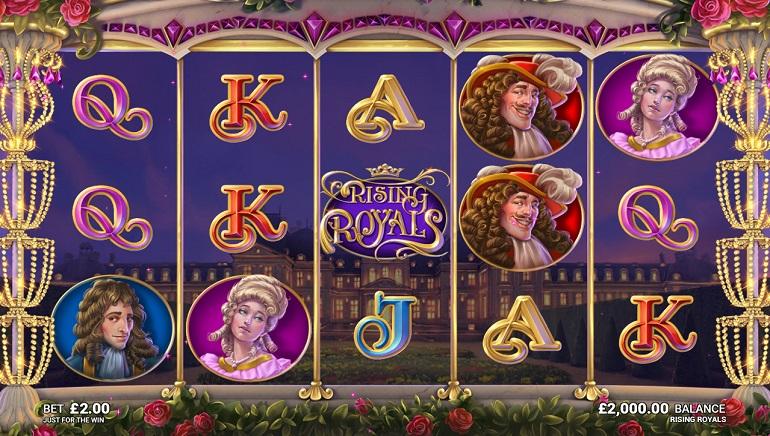 Fun at Versailles: Rising Royals by Microgaming