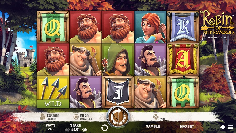 Microgaming Hits The Bullseye With Robin Of Sherwood Slot