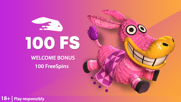 100 Free Spins Included in Snabbis Casino Welcome Package