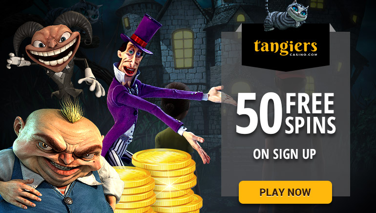 50 Free Spins at Tangiers Casino on Betsoft Games