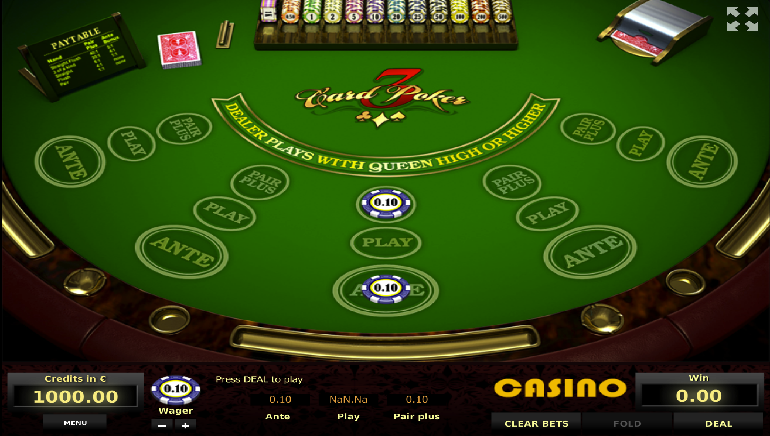 online casino dealer poker american