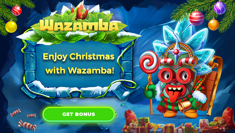 €500 Welcome Bonus & Christmas Giveaway Running at Wazamba Casino