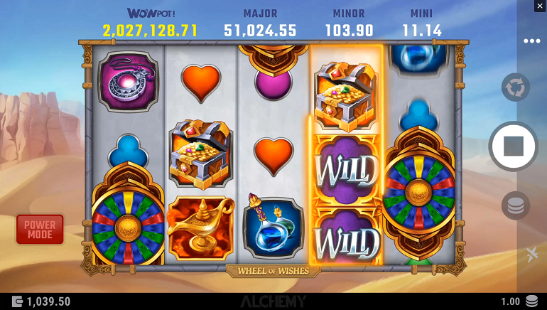 Microgaming Gets the Wheel of Wishes Slot Rolling!