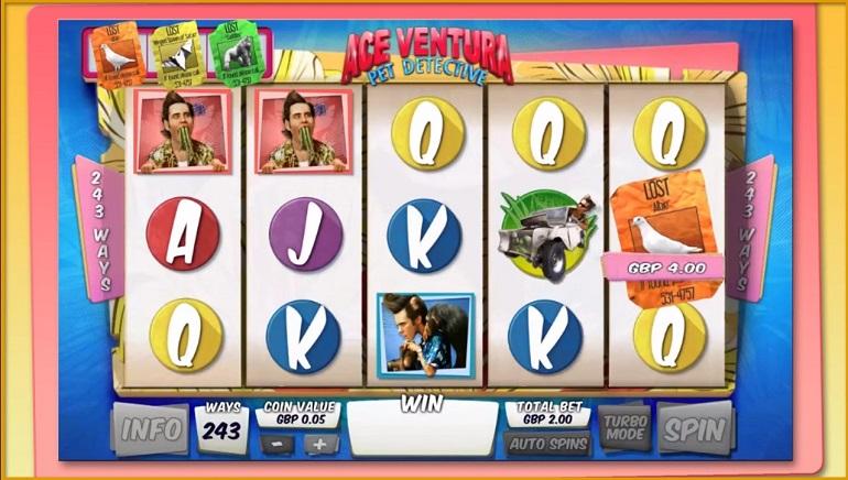 Play Ace Ventura Slot at Casino.com Canada