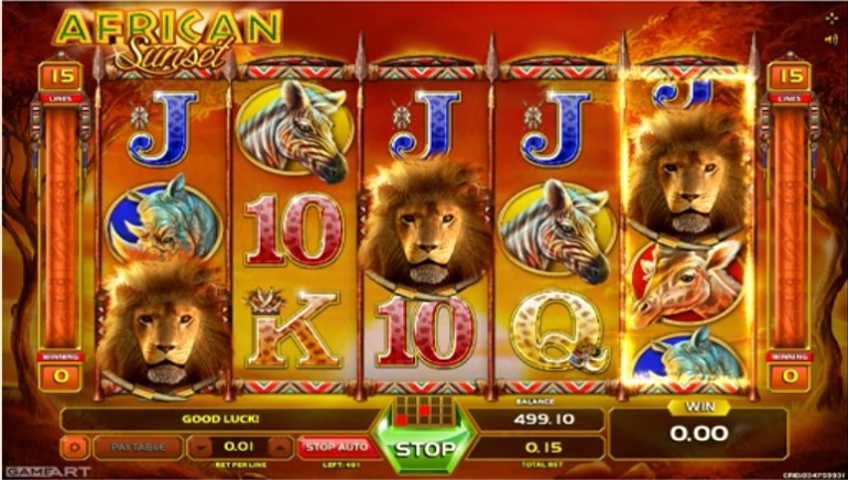 Slot Review: Go Back to Roots with GameArt's African Sunset