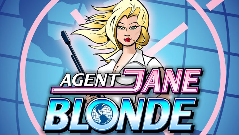 Special Welcome at All Slots with Agent Jane Blonde