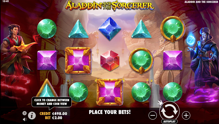Pragmatic Play Introduces Aladdin and the Sorcerer Slot