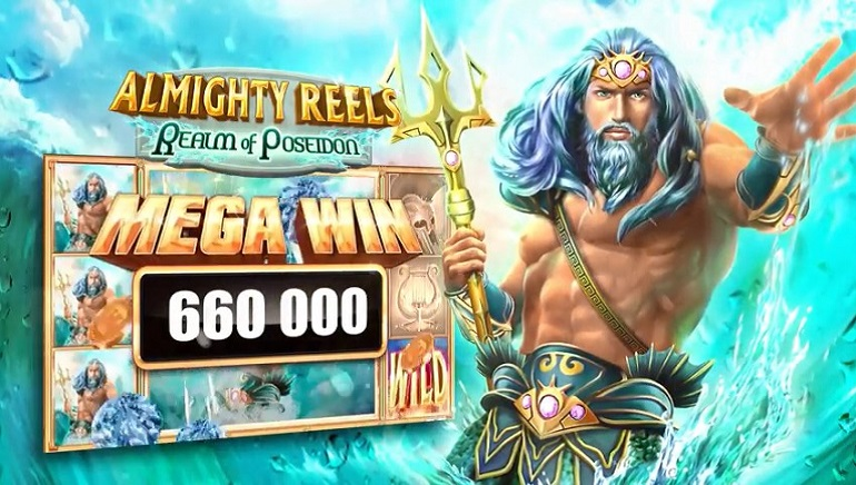 Slot Review: Almighty Reels: Realm of Poseidon by Novomatic