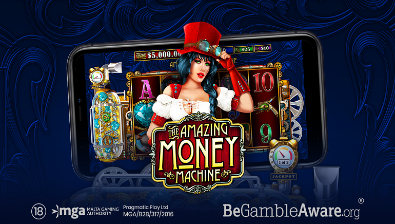 Pragmatic Play Releases Yet Another Exciting Slot - Amazing Money Machine