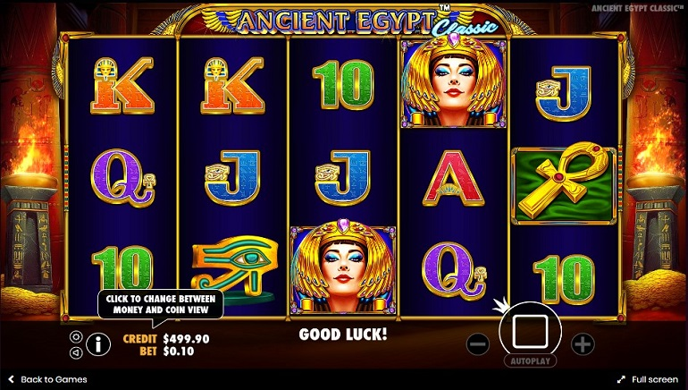 Pragmatic Play Conjures up a Winner with Ancient Egypt Classic Slot Game