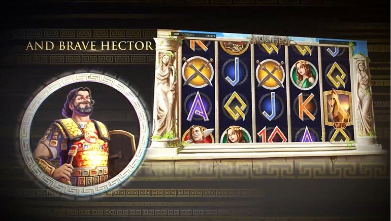 Endorphina Casinos Do Battle with New Ancient Troy Slot